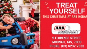 ARB Hobart Christmas Billboard