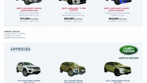 JLR Pre Approved Vehicles Press Ad