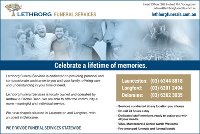 Lethborg Funerals Yellow Pages Avdert