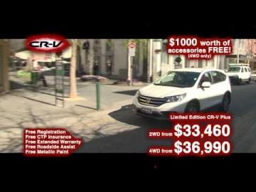 Honda CRV TVC - Honda Central