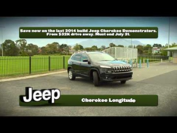 Hobart Jeep - 2014 Build Cherokee Demonstrator Clearance