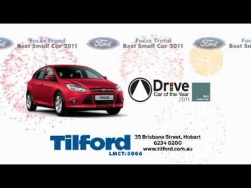 The new Ford Focus from Tilford