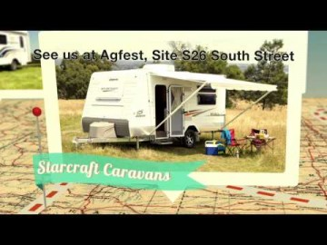King Caravans at Agfest TVC
