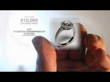 Win a $10,000 Diamond Ring from Sargisons, Jewellers of Hobart