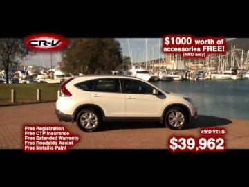Honda CRV - Northern Tasmanian Dealers
