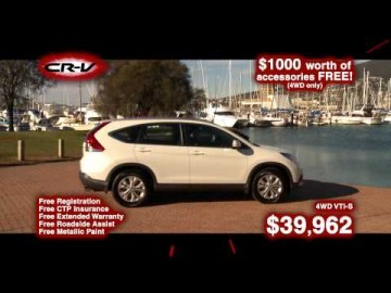 Honda CRV TVC - Statewide Dealers