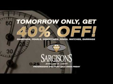 Sargisons Jewellers Progressive Sale TVC
