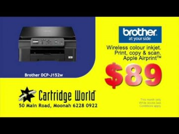 Cartridge World Moonah TVC